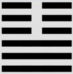 Wise up on the I Ching - Peace hexagram image