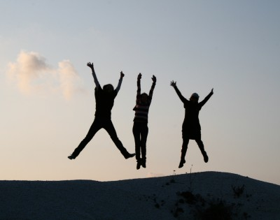 Life Coaching | jump for joy image