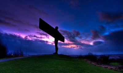 Lucky escapes or intervention | Angel of the North (UK)