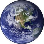 Picture of 'blue marble' Earth, the Overview Effect