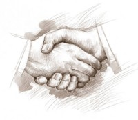 Business Man has Two NDEs | Shaking Hands image on Some Inspiration