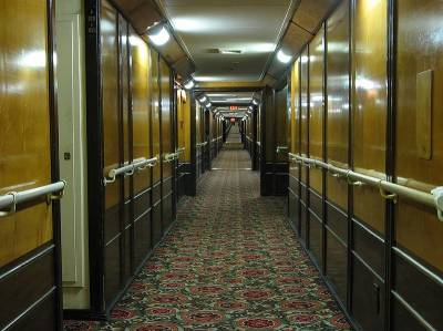 Psychic Babble and the Paranormal | RMS Queen Mary B Deck