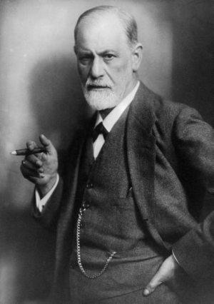 Freud and Jung worlds apart | Sigmund Freud image
