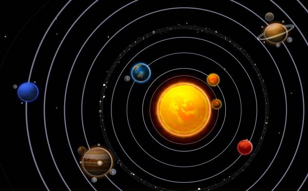 Get real with astrology | solar system image