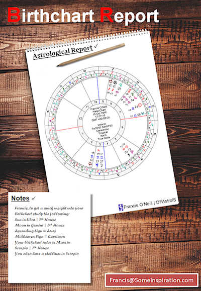 Astrology Reports from Some Inspiration | Birthchart Report image