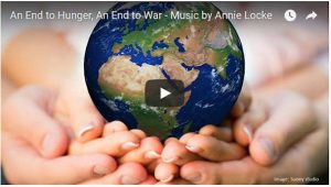 Annie Locke Music Videos | An End to Hunger, An End to War image