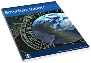 12 Months Forecast Astrological Report | Birthchart Report | 3D image
