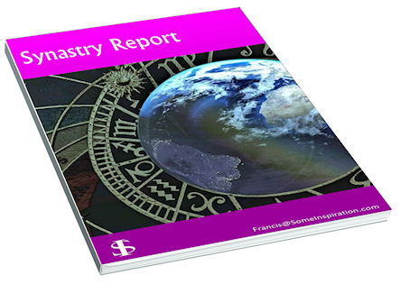 Compatibility Astrological Report   Synastry Report   3D image