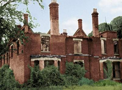 UK Ghost and Poltergeist stories | Borley Rectory in Ruins image