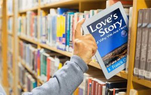 Love's Story of Why We Are Here | tablet/bookshelf image