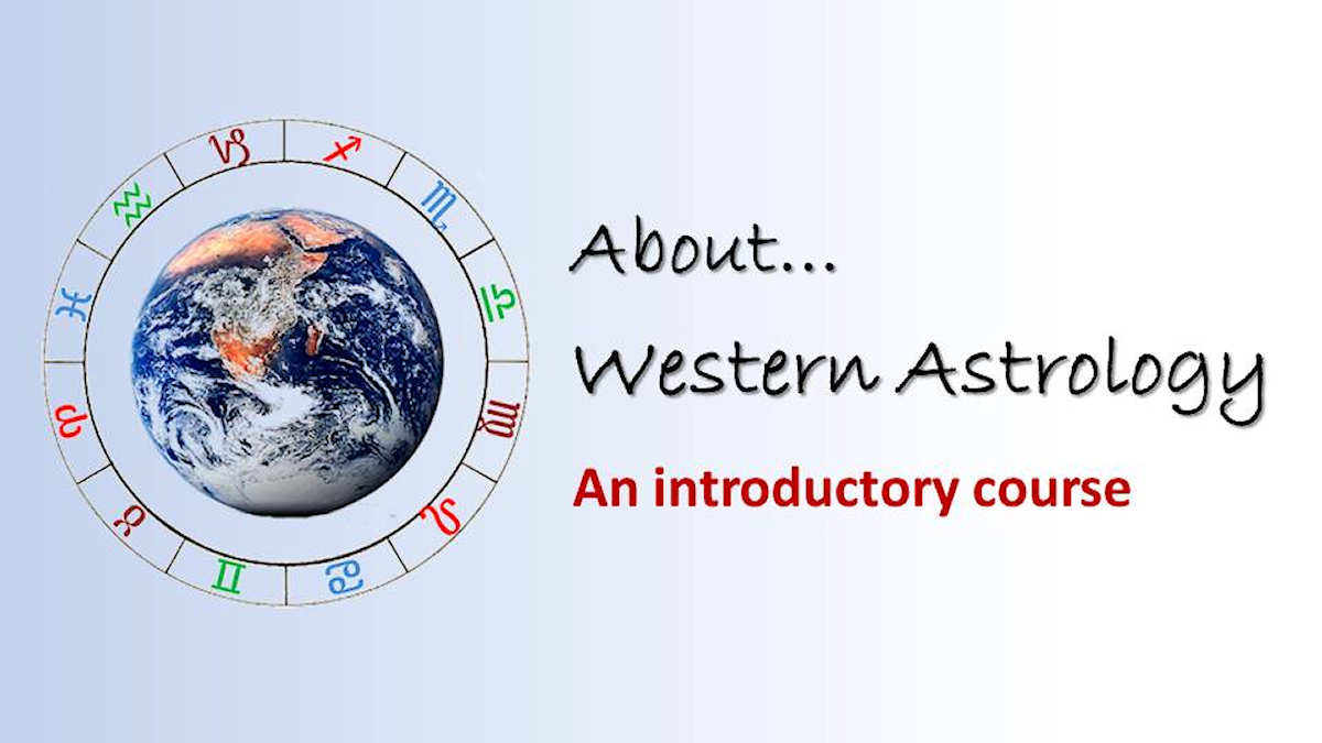 About Western Astrology introductory course image